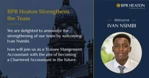 Read more about the article BPR Heaton Welcome Ivan to The Team