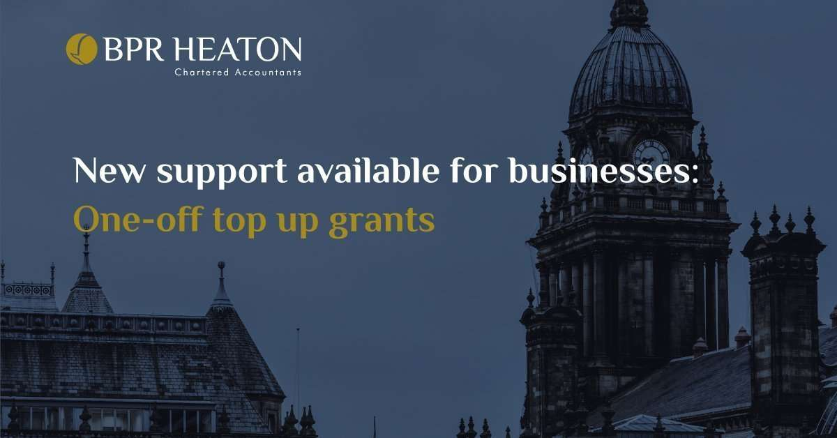 Read more about the article New Support Available for Businesses: One-off Top Up Grants