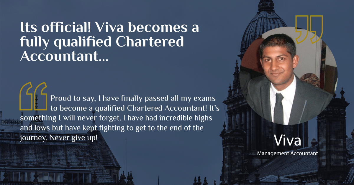 Read more about the article It's Official! Viva receives his Chartered Accountant status